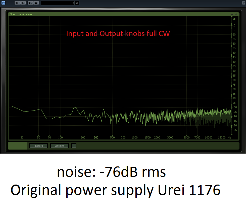 Superpowered Urei 1176 Compressor/Limiter